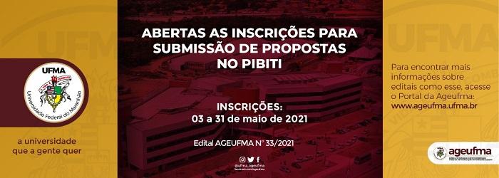 Abertas as inscrições para submissão de propostas no PIBITI