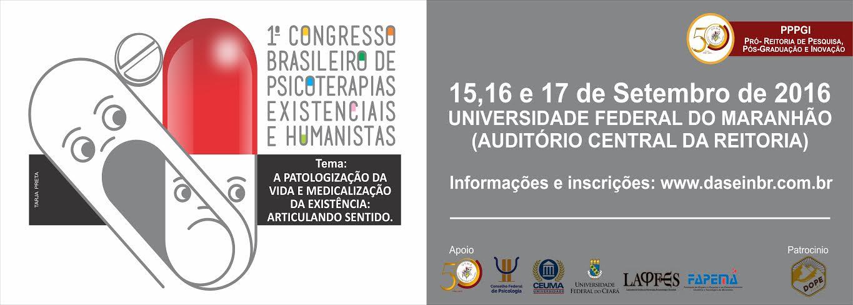 1° Congresso Brasileiro de Psicoterapias existenciais e humanistas