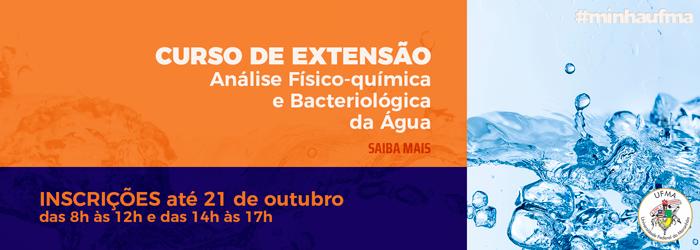 CURSO DE EXTENSÃO ANÁLISE FÍSICO-QUÍMICA