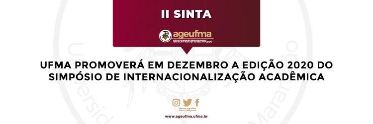 UFMA promoverá em dezembro a edição 2020 do Simpósio de Internacionalização Acadêmica