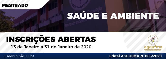 MESTRADO_SAÚDE E MEIO AMBIENTE