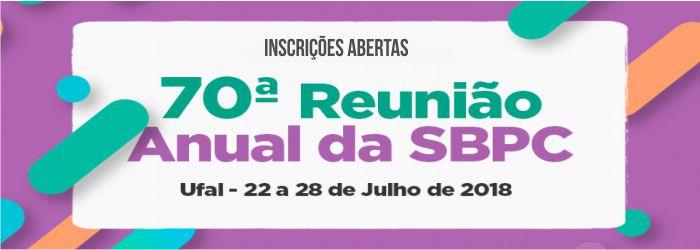 70° Reunião Anual da SBPC