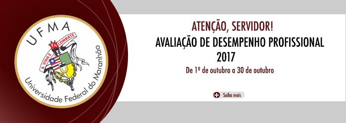 Avaliação de desempenho profissional 2017