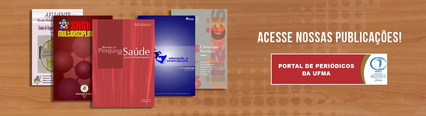 Portal de Periódicos da UFMA