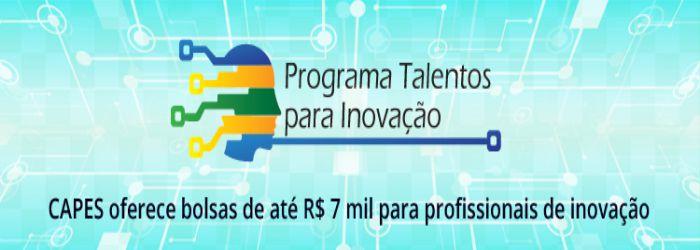 Programa Talentos para Inovação