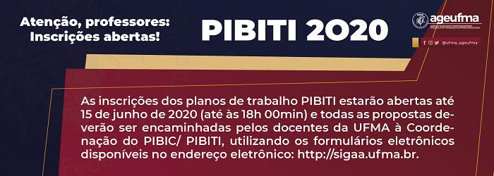 PIBITI 2020