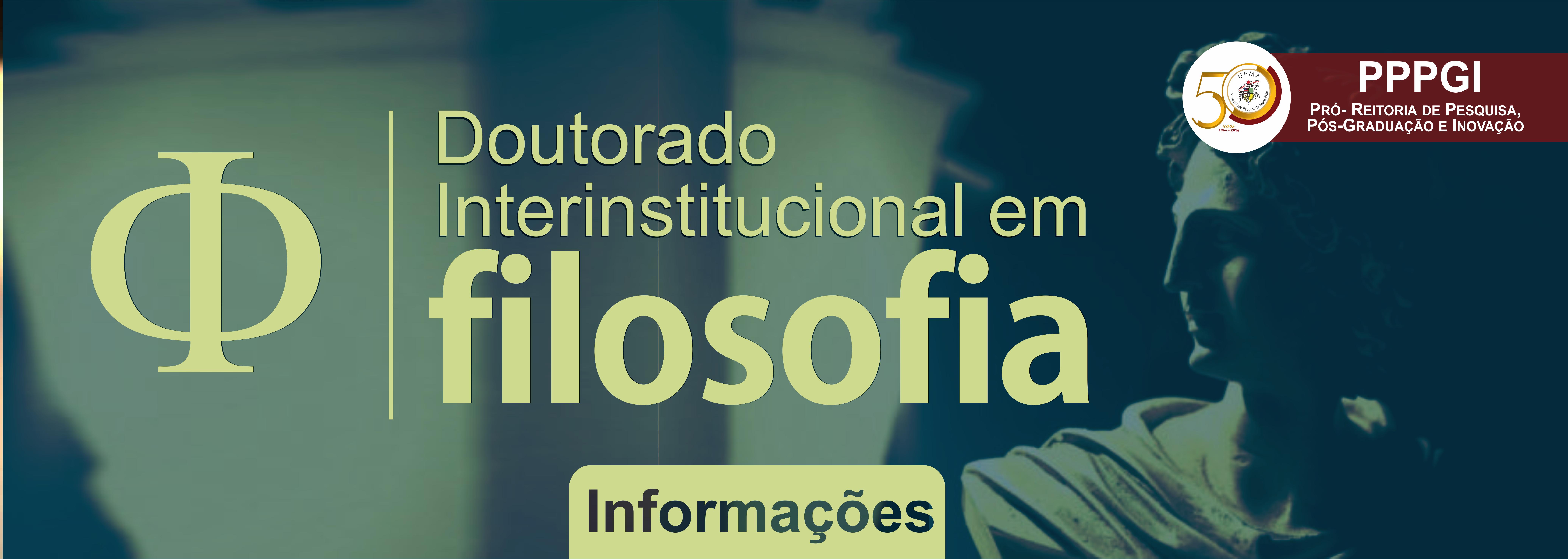 Doutorado Interinstitucional em Filosofia