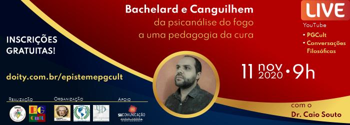 Palestra com o Dr. Caio Souto - PGCult
