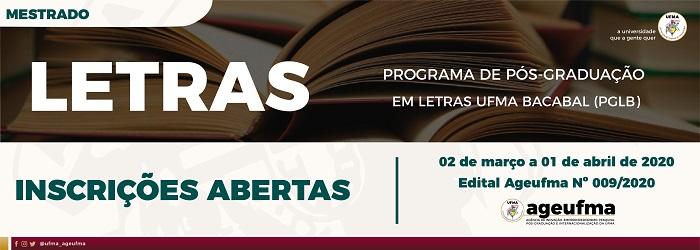 Mestrado Acadêmico em Letras do câmpus de Bacabal oferece 27 vagas