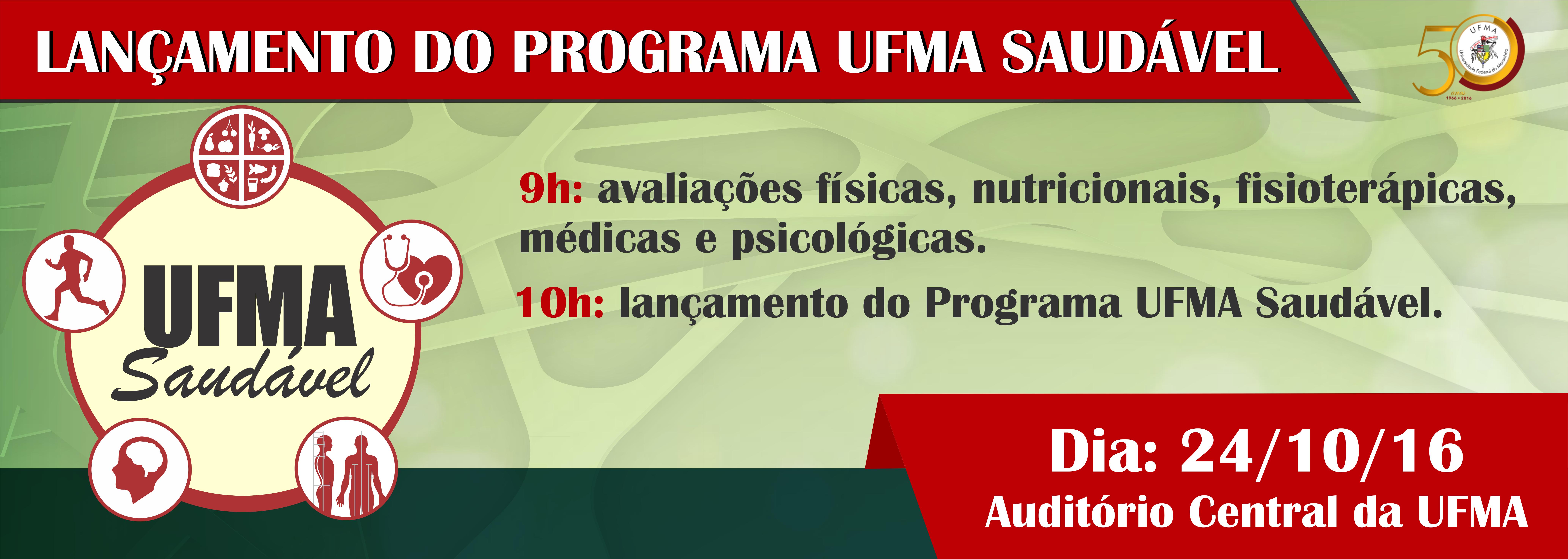 Lançamento UFMA Saudável