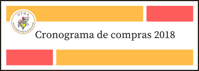 CRONOGRAMA DE COMPRAS