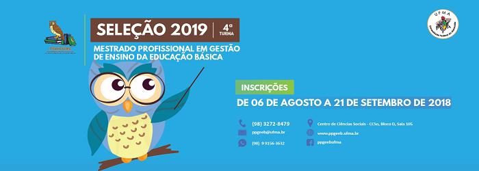 Seleção 2019 - PPGEEB