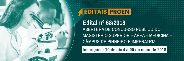 Edital Nº 68/2018