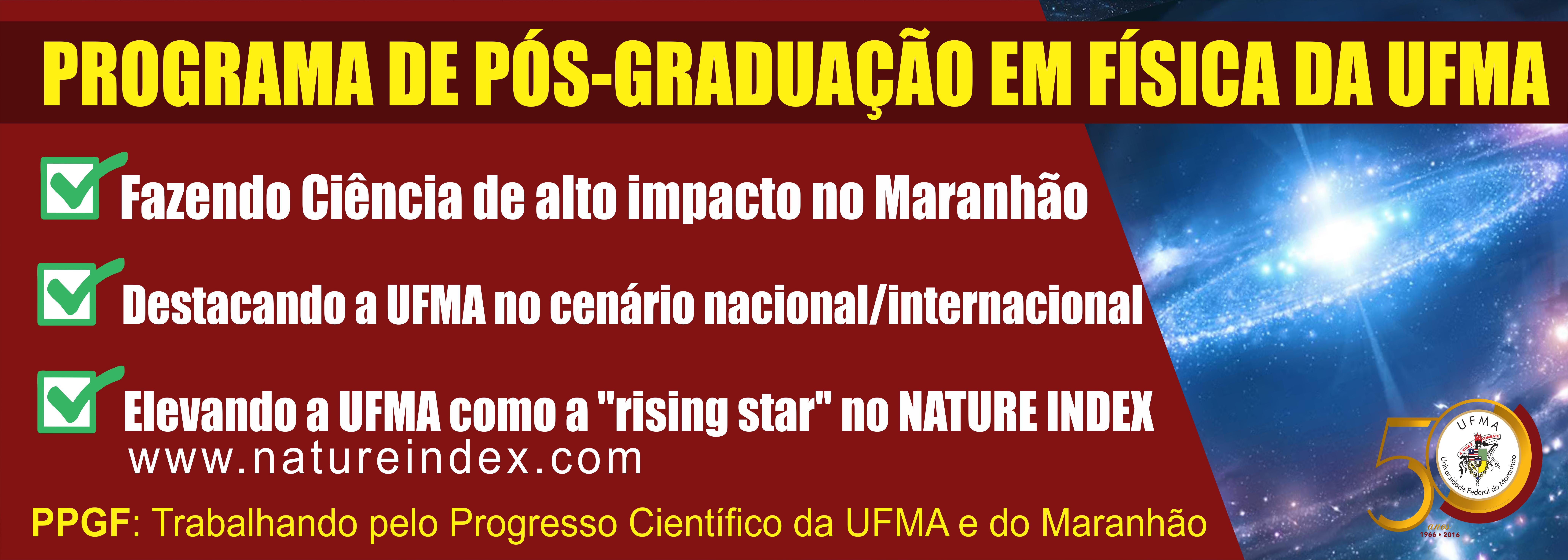 Programa de Pós-Graduação em Física na UFMA