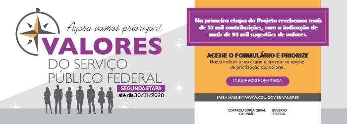 VALORES DO SERVIÇO PÚBLICO II