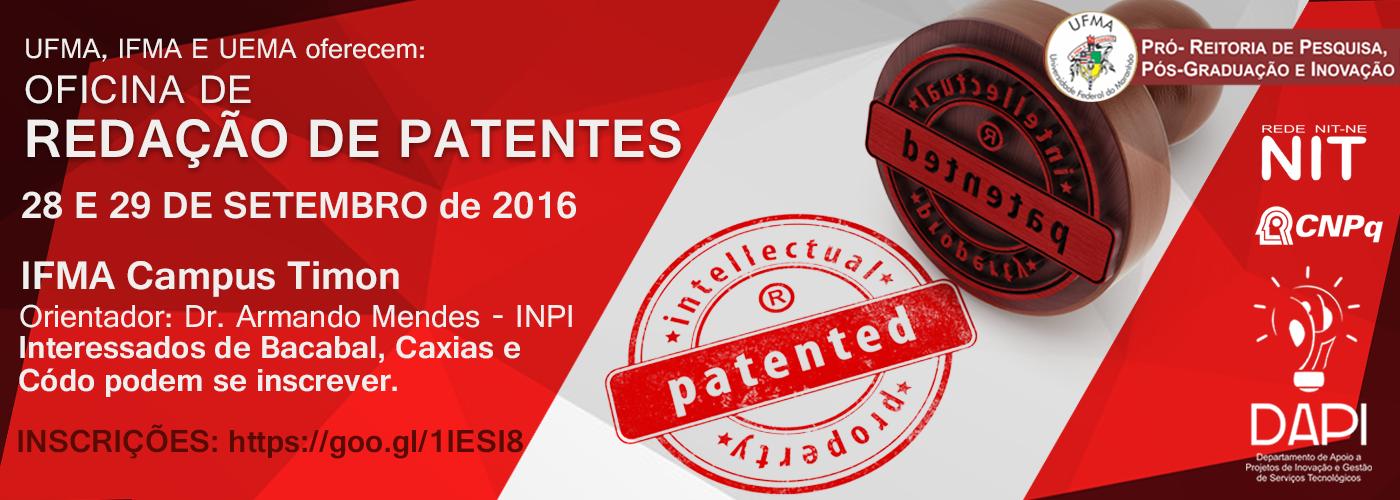 Curso de Redação de Patentes - DAPI