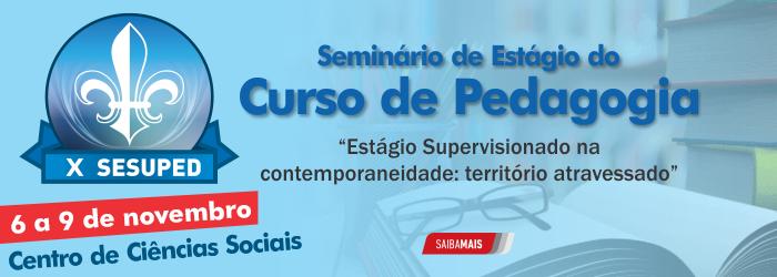 Seminário de Estágio de Pedagogia - Atualizado