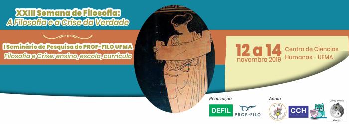 XXII Semana de Filosofia e I Seminário do PROF-FILO