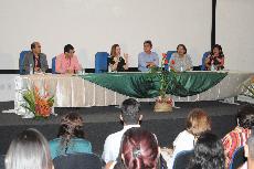 Foto Reitora Nair Portela e docentes da UFMA abrem a II Semana Pinheirense de Enfermagem