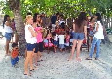 Foto Alunos do campus de Imperatriz realizam ações na Ilha dos Lençóis