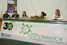 Foto Reitora Nair Portela participa da abertura da Semana da Enfermagem do COREN