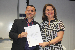 Entrega do termo de posse ao novo coordenador do Ensino Médio, Janilson José Alves Viégas - Foto por: Sansão Hortegal