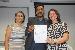 Entrega do termo de recondução ao cargo de diretor do Colun para o professor Reginaldo Manoel Moraes - Foto por: Sansão Hortegal