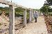 Construção do muro ao redor dos 120 hectares, onde vai funcionar o Campus de Balsas - Foto por: Sansão Hortegal