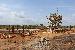 Construção do pórtico e da subestação - Foto por: Sansão Hortegal
