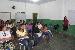 Orientação sobre como utilizar o SIGAA, ministrada pela secretária do curso, Elcilene - Foto por: Sansão Hortegal